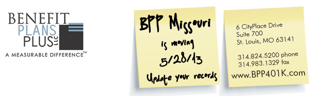 BPP Missouri Is Moving