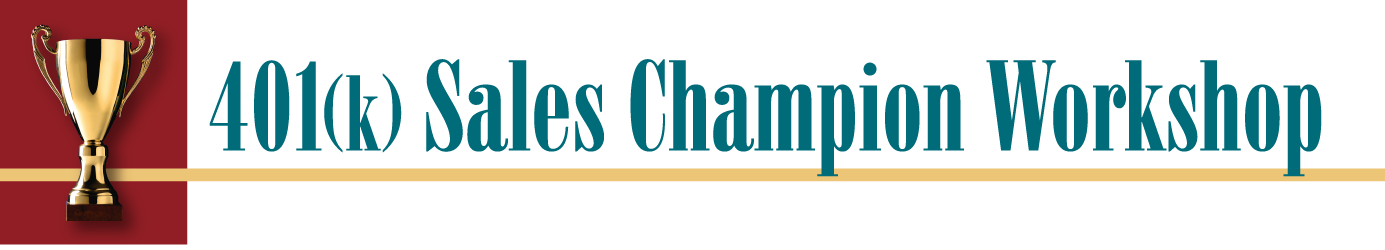 401(k) Sales Champion Workshop Logo