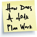 How Does A 401k Plan Work