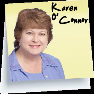 Karen O'Connor Postit