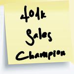 401k Sales Champion